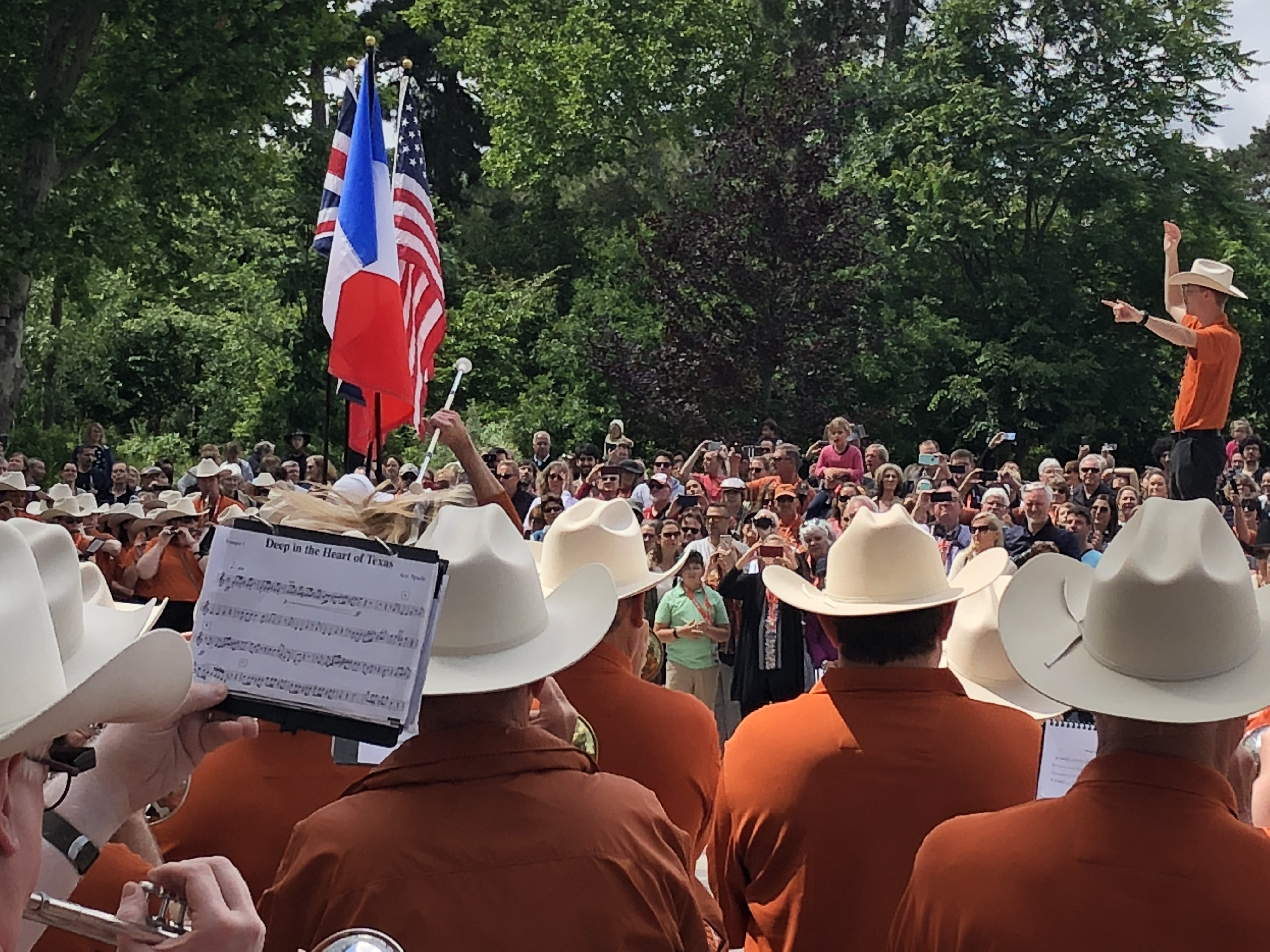 Longhorn Alumni Band at D-Day Event: Have Piccolo, Will ...